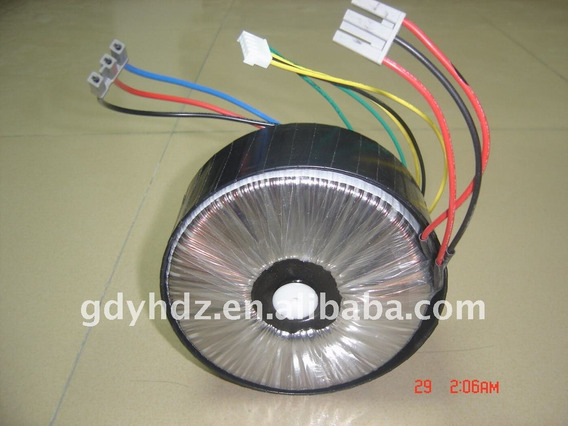 Transformador Toroidal Para Amplificador De Audio