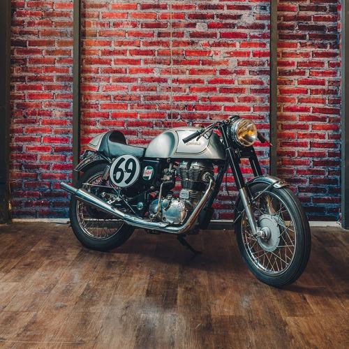 Royal Enfield 350cc Cafe Racer   100% Custom   0km