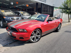 Mustang Conversivel Cabriolet 2010 Ford Unico Dono Top Nv