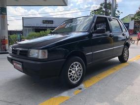 Fiat Uno Ep 1996 Vidros E Travas Elétricas 4 Portas 1.0 8v