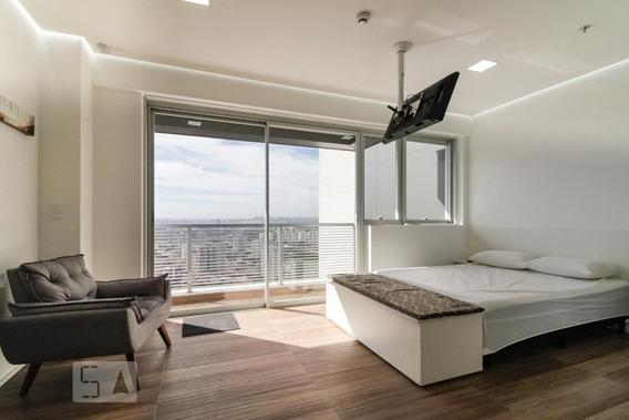 Studio No 31º Andar Mobiliado Com 1 Dormitório E 1 Garagem - Id: 892927276 - 227276