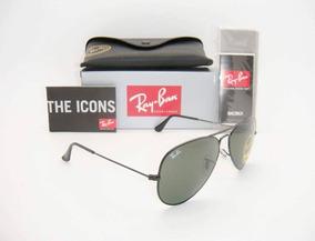 Gafas Ray Ban 100% Originales 3025 L2823 Negras De Aviador