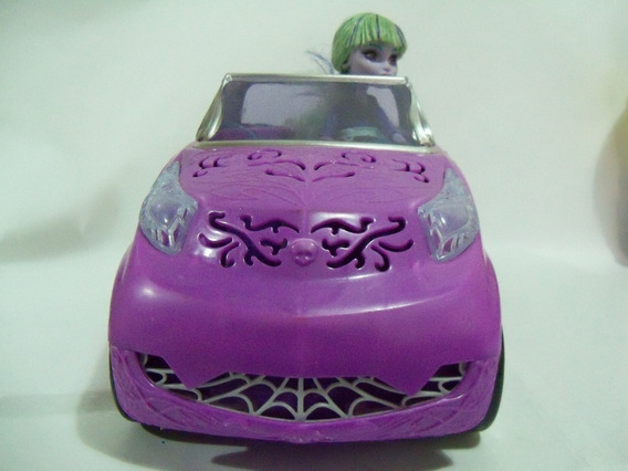 Monster High Carro Da Scaris Com A Boneca