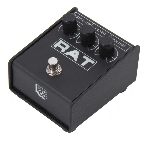 Pedal Guitarra Proco Rat 2 Distorção Fuzz + Fonte Mr. Power