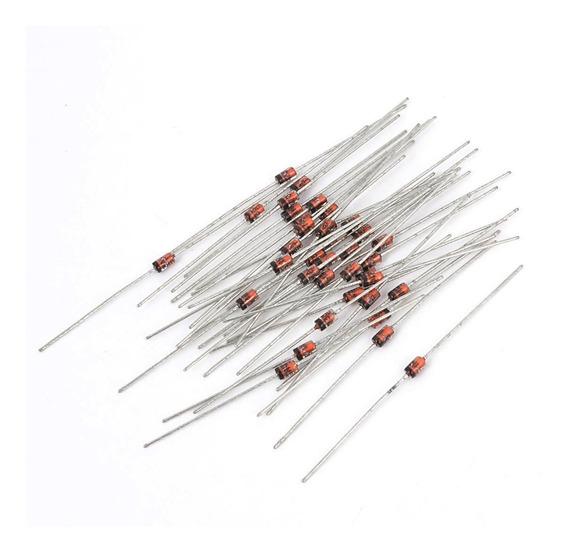 10 Unidades Diodo Zener 12v 1w 1n4742a 12 Volt Pack X10