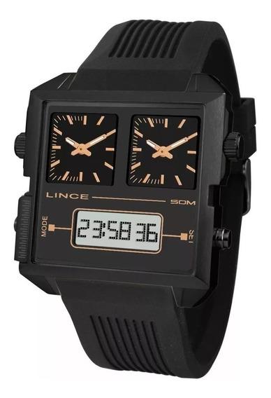 Relógio Lince Original Anadigi Map4588s P1px - Liquidação!