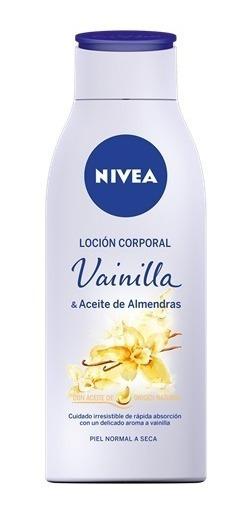 Crema Nivea Body Senses Vainilla & Almendras 400 Ml