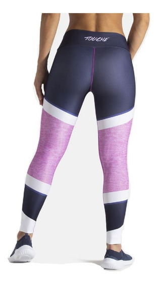 Calzas Chupin Estampadas Mujer Deportiva Lycra Touchesport