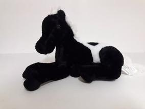 Cavalo Malhado Deitado De Pelúcia Safári - Original - Fizzy