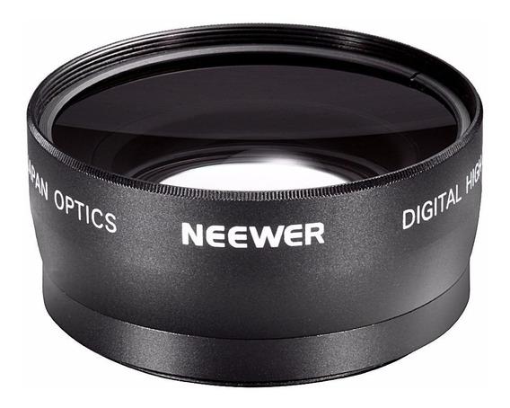 Lente Gran Angular-macro 55mm Para Sony Nikon Envío Gratis