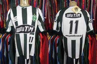 Coritiba 2002 Camisa Reserva Tamanho G Número 11.