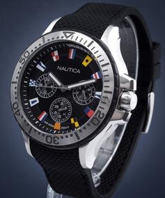 Relógio Nautica Bandeiras. 100 Metros. 100% Original.