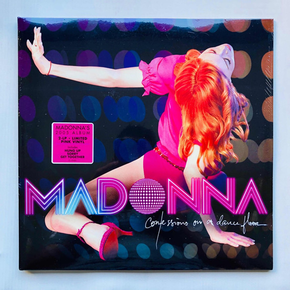 Madonna Confession On A Dancefloor 2 X Pink Vinyl Limited Ed