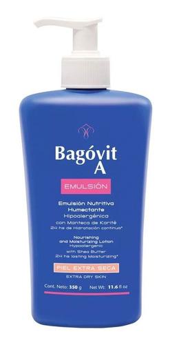 Imagen 1 de 5 de Bagóvit A Emulsión Pieles Extra Secas Nutritiva Humectante