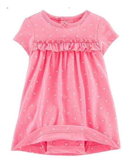 Vestido Infantil Carters 12m Com Blusinha Importado