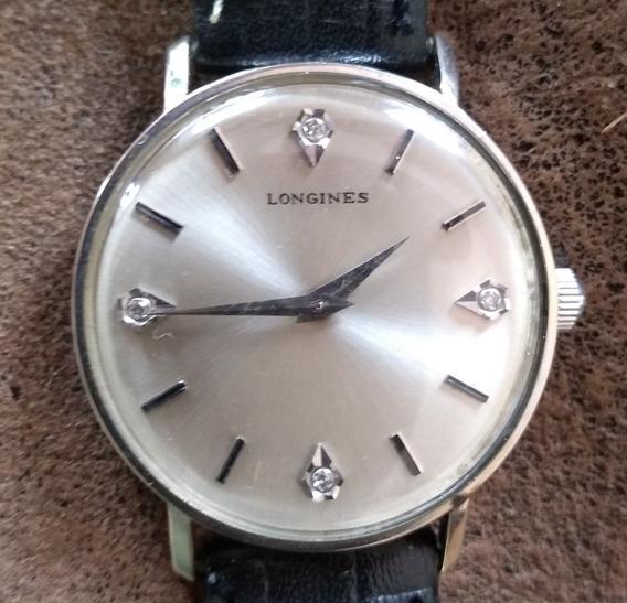 Relógio Longines Ouro E Diamante Colecionador