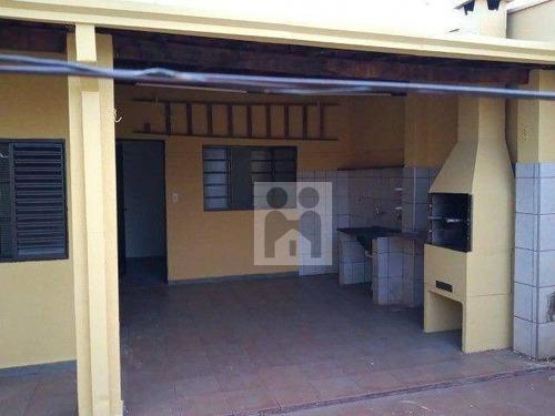 Imagem 1 de 12 de Casa Com 3 Dormitórios Com Suíte À Venda, 146 M² Por R$ 280.000 - Jardim Joaquim Procópio De Araújo Ferraz - Ribeirão Preto/sp - Ca1001