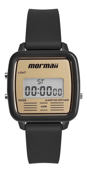 Relógio Mormaii Feminino Vintage Mojh02av/8d Preto Digital