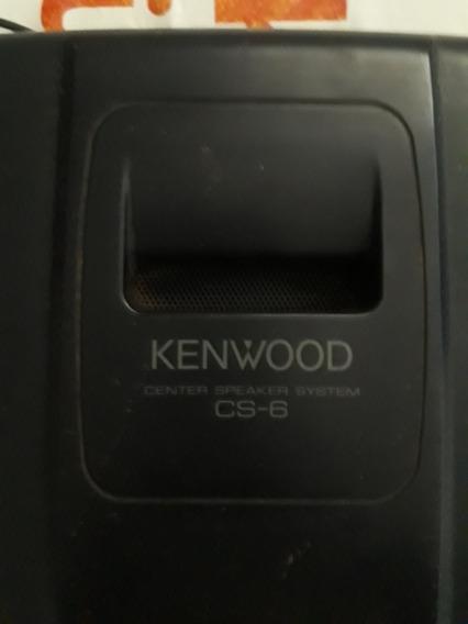 Caixa De Canal Central Kenwood Cs-6
