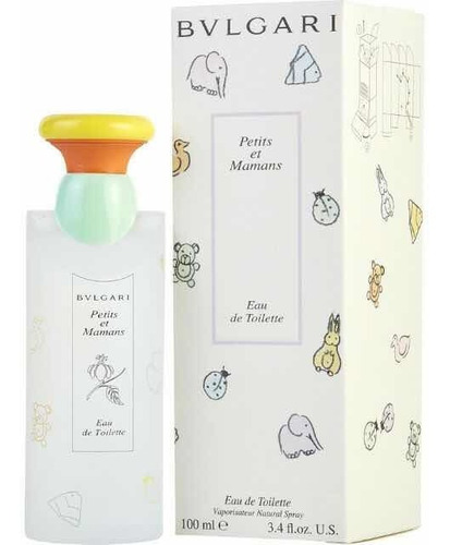 Imagen 1 de 1 de Bvlgary Petits Et Mamans 100ml Original Baby Perfum