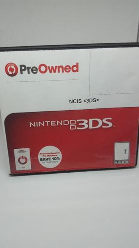 Juego Nintendo 3ds Ncis Original Cartucho Fisico En Belgrano