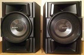Caixa De Som Acústica Sony 135w Rms 8pol Original Nova (par)