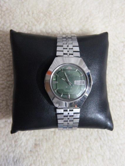 1 Relógio Orient Aut. Masc. Mod. Es 469224-6b Cx 37 X 42 M