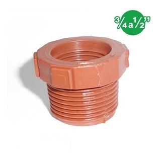 Accesorios Riego Conexiones Polipropileno Buje Red ¾ A ½