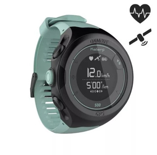 Reloj Gps Monitor Cardíaco De Muñeca Verde