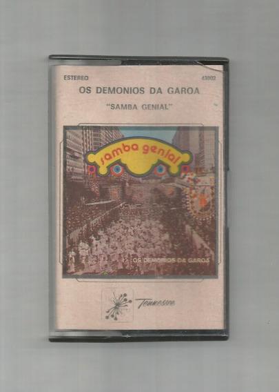 Os Demonios Da Garoa Samba Genial Cassette Usado