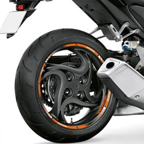 Friso Roda Refletivo Degradê Cb Twister-250 Não Desbota