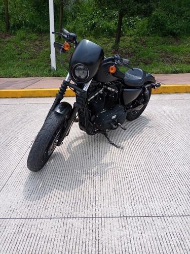 Imagen 1 de 12 de Harley Davidson  Sportster  Iron 883 Impecable