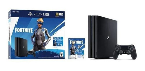 Playstation 4 Pro 1tb Fortnite Joystick Sony Ps4