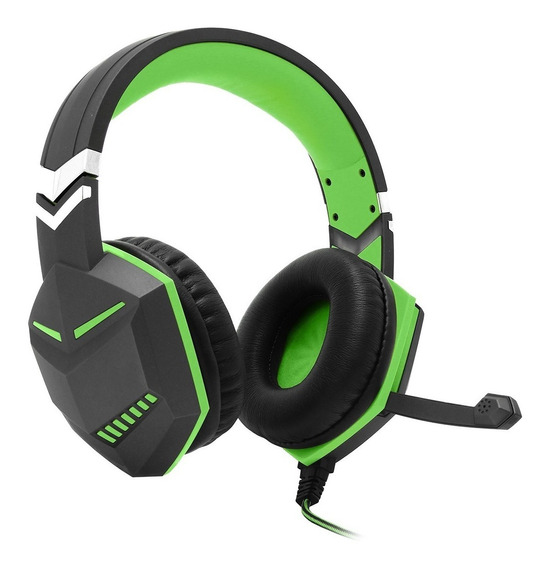 Headset Gamer Ps4 Xbox One Over Ear Fio Microfone P3 Verde