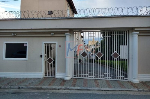 Imagem 1 de 30 de Ref: 12.595 Excelente Sobrado Em Condomínio No Bairro Vila Nova Mazzei, Com 3 Dorms, Lavabo, Varanda, Cozinha Planejada, 2 Vagas, 106 M² - 12595