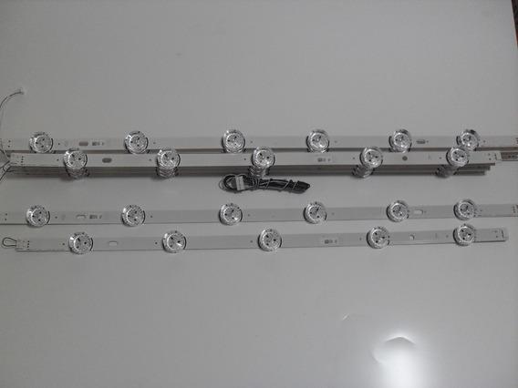 Kit Barras Led Lg 55lb6200 55lb5600 55lb6500 55lb5850 Novas