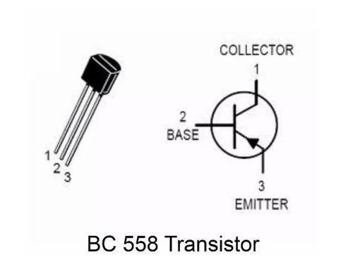 20 Peças Transistor Pnp Bc558 Transistores Bc558 Arduino Pic
