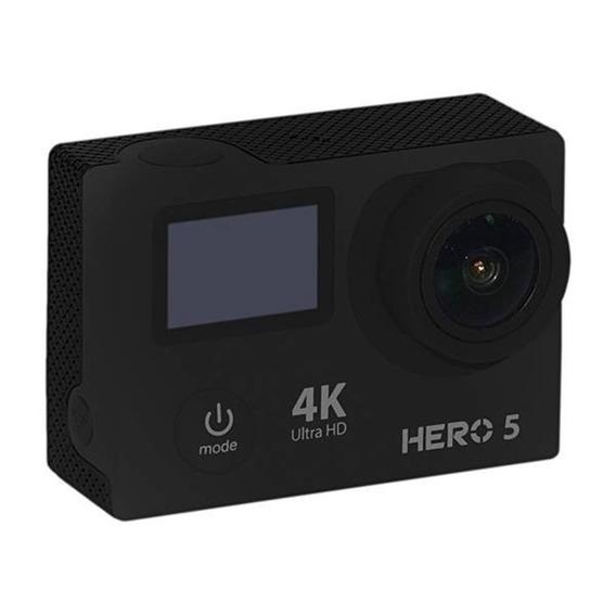 Câmera De Ação 12mp 4k Hdmi Wifi + Kit Acessórios