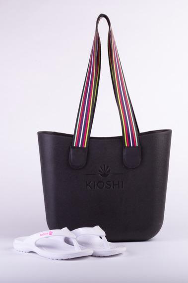 Bag Playero + Flips Flop Kioshi White