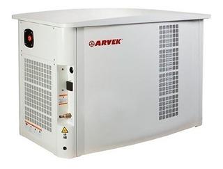 Generador A Gas Insonoro 14.5kva Arvek Ge Gas 15000 Mono