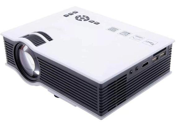 Projetor Uc68 Hdmi Wi-fi 1800 Lumens Branco