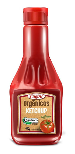 Ketchup Orgânico Fugini Frasco 400 G