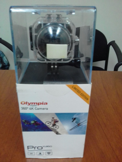 Cámara Olympia Digital 360 Grados Pro X360/ 4k