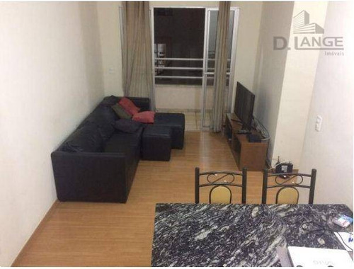 Imagem 1 de 16 de Apartamento Com 3 Dormitórios À Venda, 70 M² Por R$ 405.000 - Chácara Primavera - Campinas/sp - Ap16201