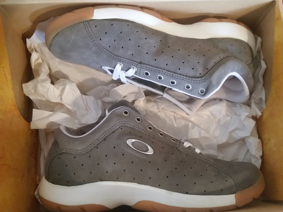 Zapatos Tenis Oakley Grey Talla 10,5 Usa 8.5 Mx
