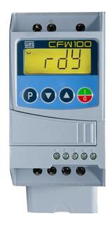 Inversor De Frequencia Weg Cfw100 0,5cv 2,6a 220v
