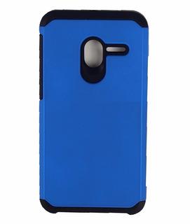 Capa Azul Anti Impacto Alcatel Pop 3 5.0 Pelicula De Vidro