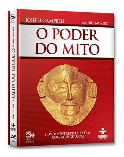 Coleção O Poder Do Mito 2 Dvds - Joseph Campbell