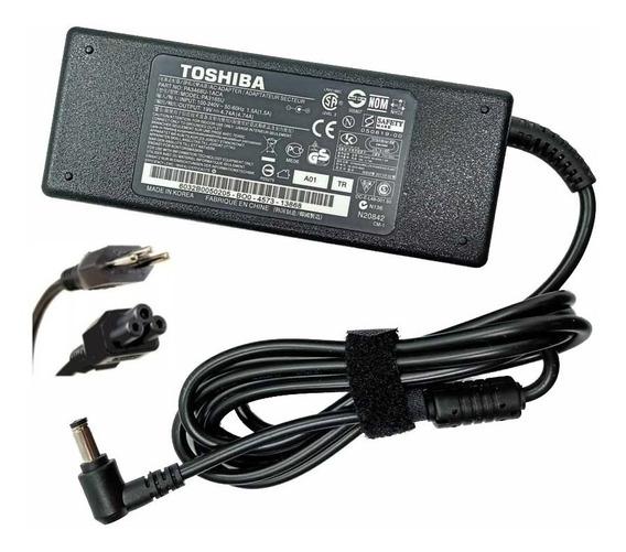 Fonte 19v 4.74a Notebook Toshiba Satellite ( Original ) !!
