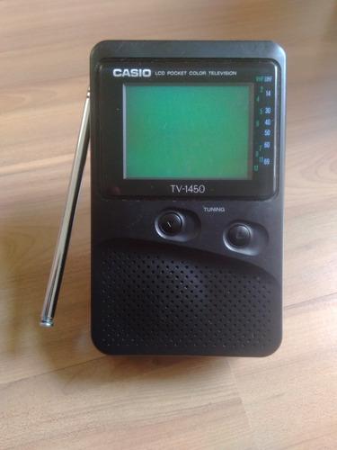 Mini Tv Casio Lcd Pocket Color Televisio. Mod.: Tv-1450
